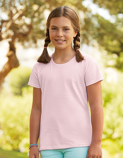T-shirts - FRUIT of the LOOM - Sofspun® T Girls