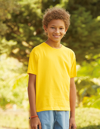 T-shirts - FRUIT of the LOOM - Sofspun® T Kids