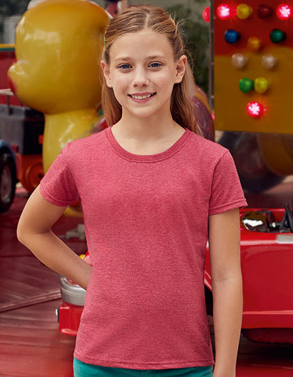 T-shirts - FRUIT of the LOOM - Valueweight T Girls