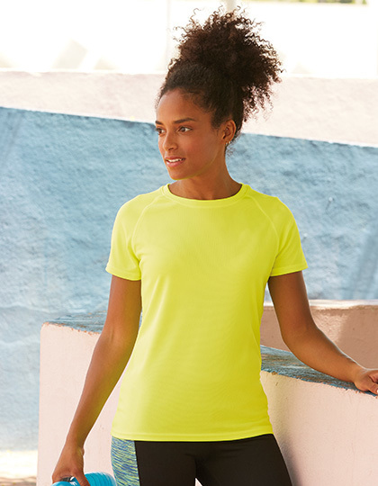 Sport - FRUIT of the LOOM - Performance T Lady-Fit