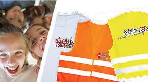 Warnwesten und T-Shirts für Schülerlotsen, Streitschlichter und Schulsanitäter. Komplett bedruckt ab nur 4,00 Euro*
