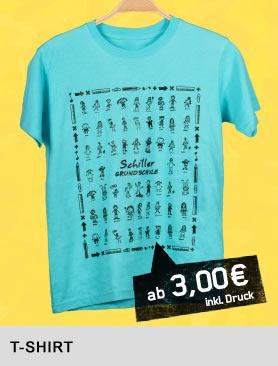 Kritzelkunst T Shirt Schulkleidung